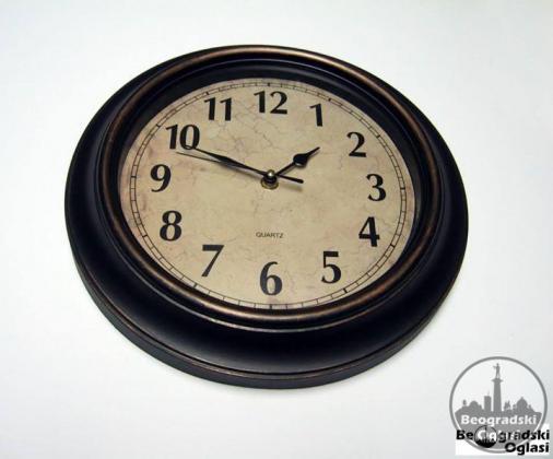 RETRO zidni sat NOV