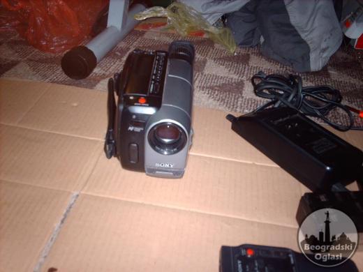 kamera sony na kasetu