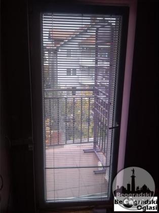 PVC Jednokrilna balkonska vrata - Rehau