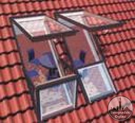 Krovni prozori Velux