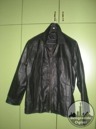 Nova muška kožna jakna