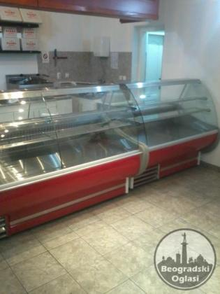oprema za fast fud pekare markete