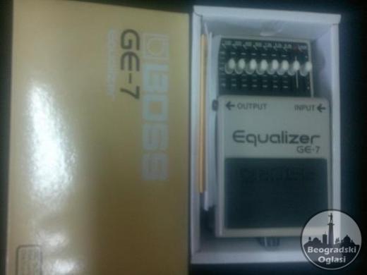 Boss GE-7 Guitar Equalizer AKCIJA