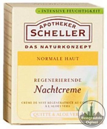 Scheller nocna krema za lice75ml,NOVO