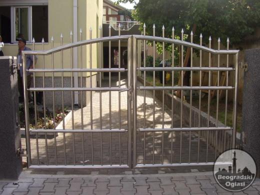 Inox (prohrom) ograde i kapije - AKCIJA!