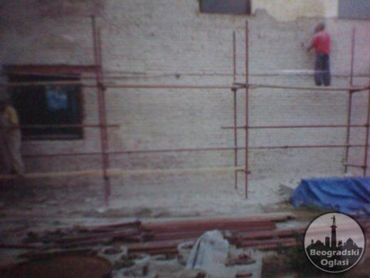 iznajmljivanje gradjevinske skele