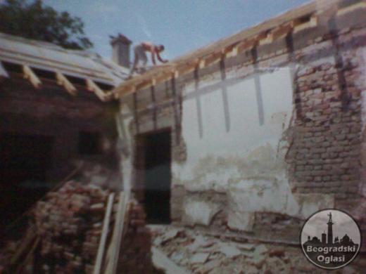 adaptacije i izgradnja objekata
