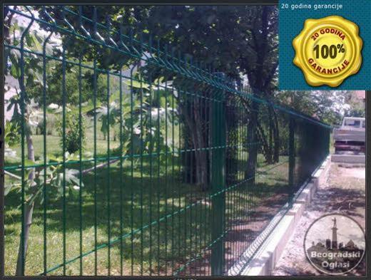 ☆ Montaža panelnih ograda sa garancijom