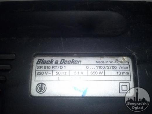 BLACKER I DECKER BUSILICA