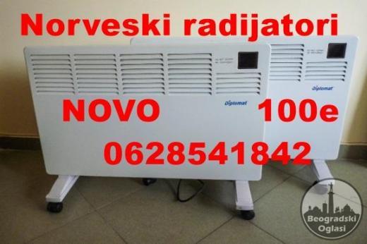 Norveski radijator konvektor DIPLOMAT 1500w NOVO