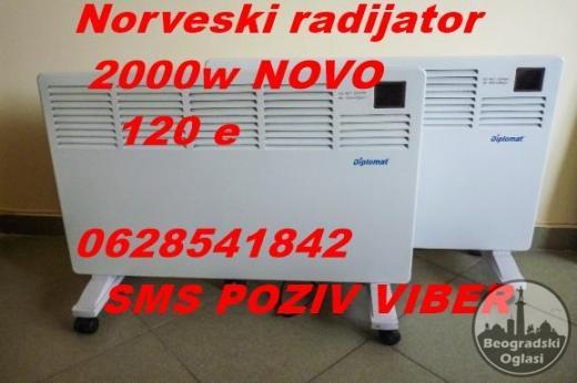 Norveski radijator konvektor DIPLOMAT 2000w NOVO