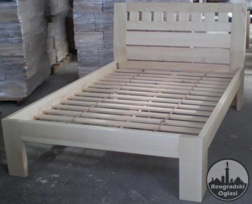 Bracni kreveti od jasena, hrasta ili oraha