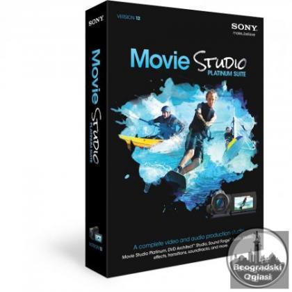SONY Vegas Movie Studio HD Platinum 12.0