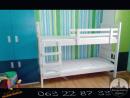 Spratni beli krevet sa dusecima od 24399