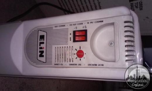 Uljani radijator Oznaka modela : Elin EL 12.