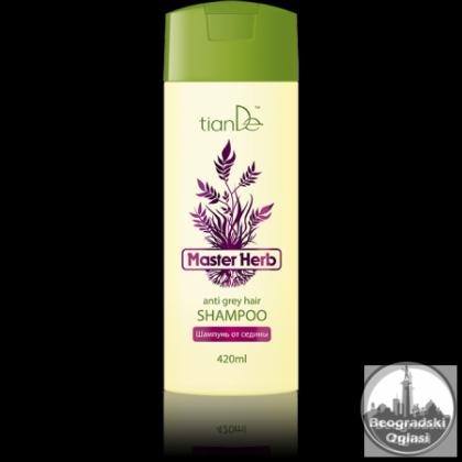 Šampon protiv sede kose 420 ml.