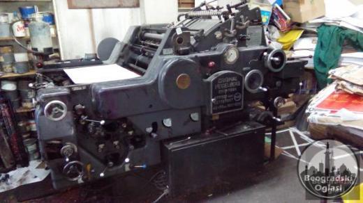 Prodajem stamparske masine HITNO
