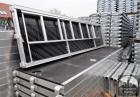 600 m2 Ramovske fasadne skele. čeličnih okvira. prodaja skela tip Alfix NOVI600 m2 Ramovske fasadne skele. čeličnih okvira. prodaja skela tip Alfix NOVI