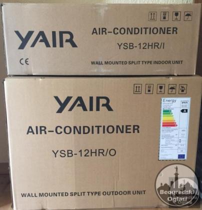 YAIR YSB12HR, 12000 BTU
