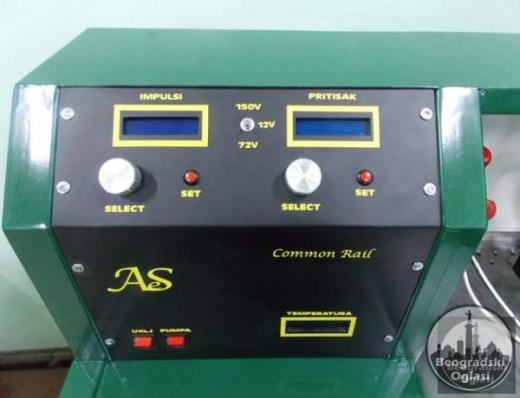 Masina za test Common Rail dizni