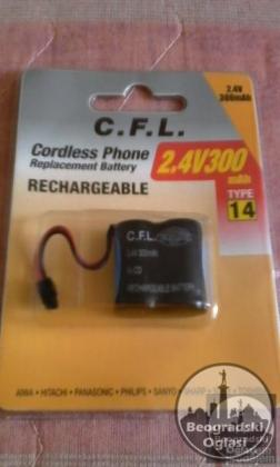 Nova baterija za fiksni telefon