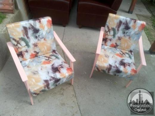 Retro fotelja unikatna