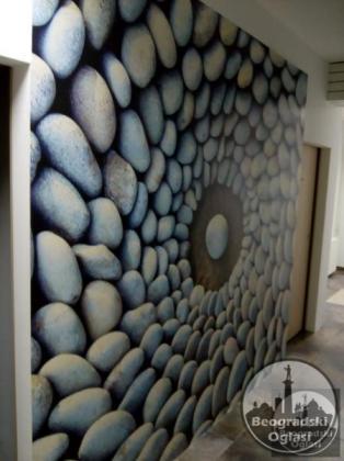 Molerski radovi - Lepljenje tapeta