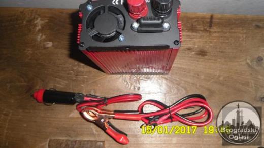 Inverter-Pretvarac napona12V-220W-500W