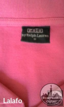 Roze polo muska majca Ralph Lauren