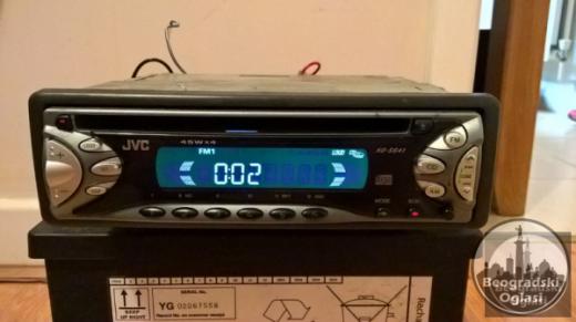 Radio Mp3 Cd JVS 45 W x 4