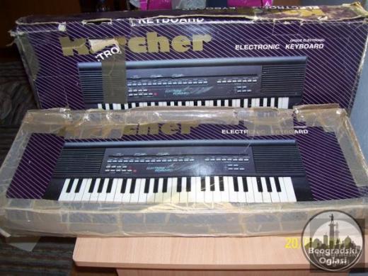 Dve klavijature