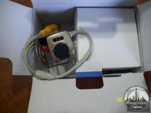 Kamera za video nadzor.