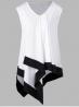 Asimetricna tunika,majica za punije dame XXXXXL