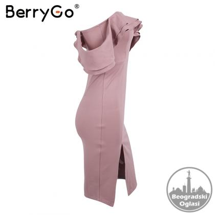 Elegantna vecernja haljina visokog struka sl.A