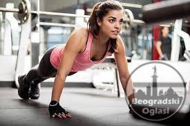 Fitnes u kućnim uslovima - Program mršavljenja