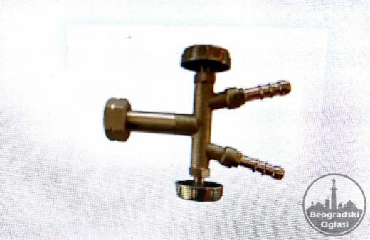 T razdelnik sa ventilima