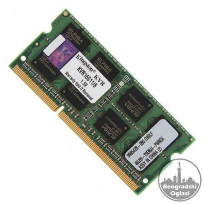 OTKUP PC komponenti, DDR3 i DDR4 Memorija 4/8/16GB za Desktop i Laptop