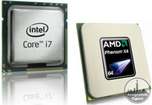 OTKUP PC komponenti, Intel i AMD Procesora novije generacije