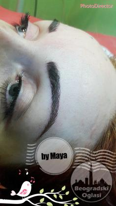 Permanent make up by Maya