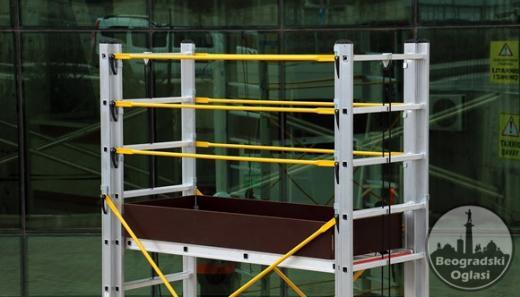 Aluminijumska pokretna skela osnova 60x155
