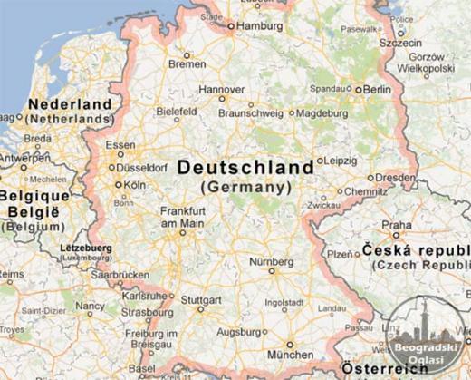 Vaš prevoz do Nemačke