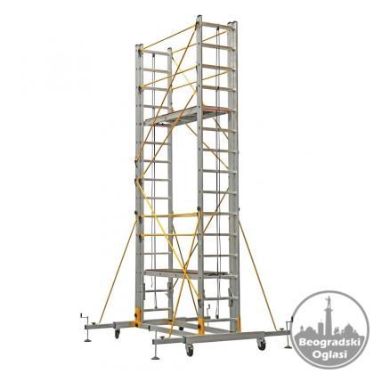 Aluminijumska Pokretna Skela 8m