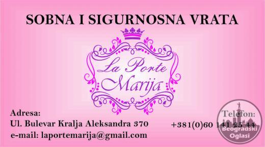 Prodaja sigurnosnih i sobnih vrata La porte Marija