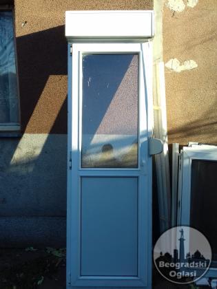 PVC balkonska vrata sa roletnom