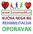 Sve vrste kućnih usluga - homemedik.rs kućni lekar, sestra-tehničar, fizioterapeut, negovatelj, d