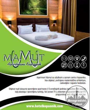 Apart Hotel Kopaonik Mamut