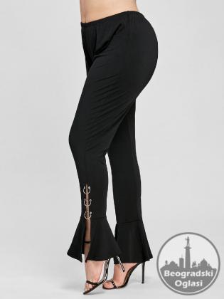 Pantalone za punije dame sa prstenovima XL-5XL sl. B