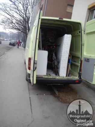 Prevoz robe i stvari Beograd dva kombija