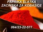 Paprika slatka mlevena extra crvena ZA KOBASICE