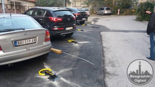 Parking zastita stub